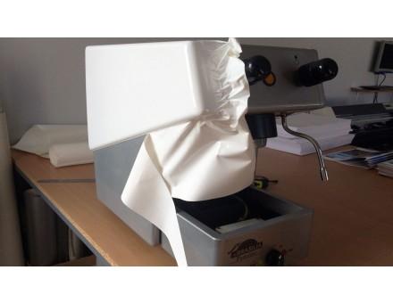 celopolep - krémová biela fólia - detail ovládacieho panelu