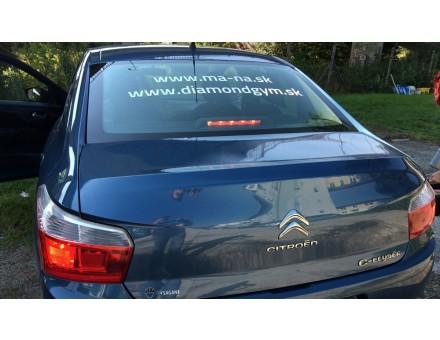 Reklamný polep auta - Citroën